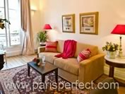 Book 2 Bedroom Paris Short Term Apartment Rental with Air Conditioning - Paris Perfect